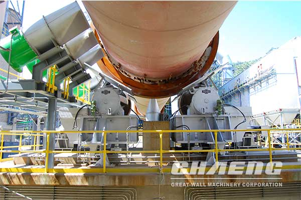 4500t/d Cement rotary Kiln project