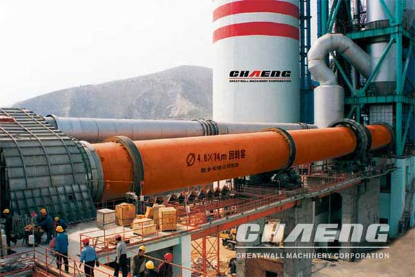 GRMR53.41 vertical raw mill for Meng Electric 5000t/d cement production line