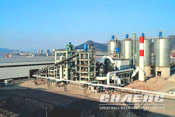1.5 Million t/a GGBS Plant of Baosteel