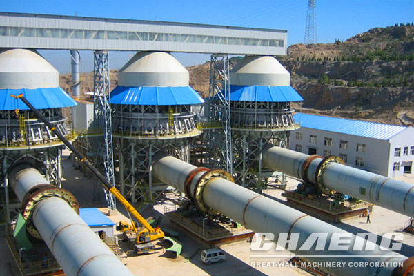 Advantages of CHAENG lime rotary kiln