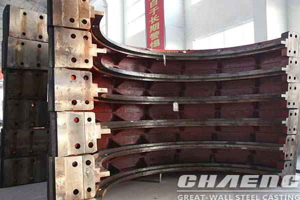Experience share about large girth gear pouring process - girth gear manufacturer