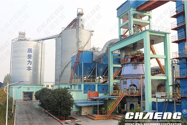 Open a slag powder grinding and processing plant_annual output of 1 million tons