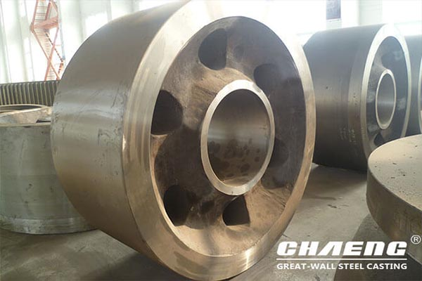 CHAENG rotary kiln support roller images and reference
