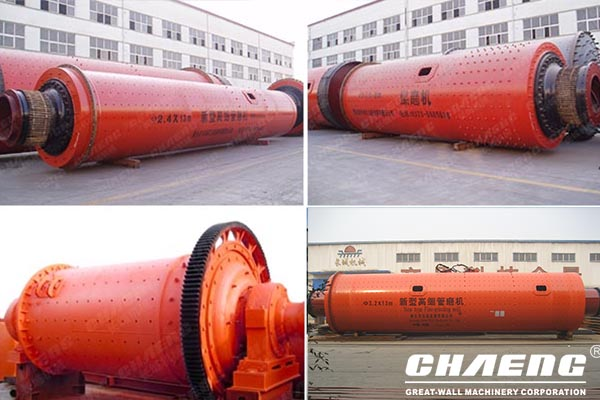 15-200t/h tumbling mill (ball mill)