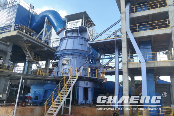 Slag Vertical Roller Mill