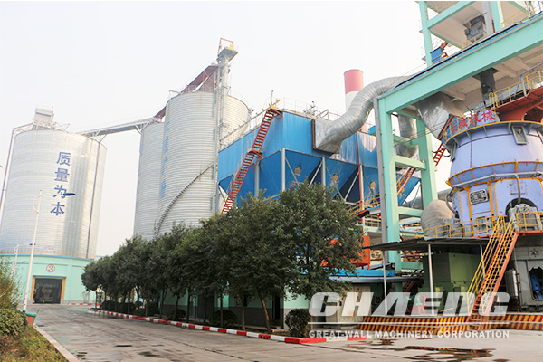 Dust collector is used in cement grinding station