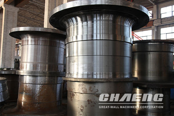 Ball mill trunnion
