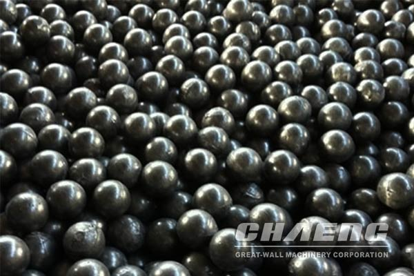 Wear-resistant steel ball